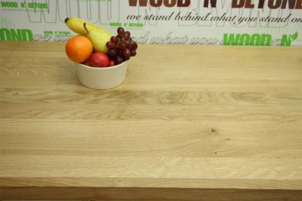 Full Stave Rustic American Oak Worktop 38mm By 620mm By 2800mm