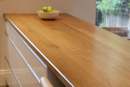Full Stave Select Oak Worktop Elite 35mm By 1200mm By 2500mm