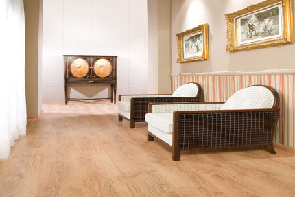 Liverpool Oak Laminate Flooring 8mm By 190mm By 1200mm