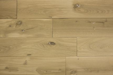 Natural Engineered Flooring Oak Brushed Unfinished 14/3mm By 190mm By 1900mm