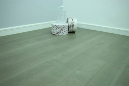 Natural Engineered Flooring Oak Click Summer Grey UV Oiled 14/3mm By 150mm By 400-1500mm