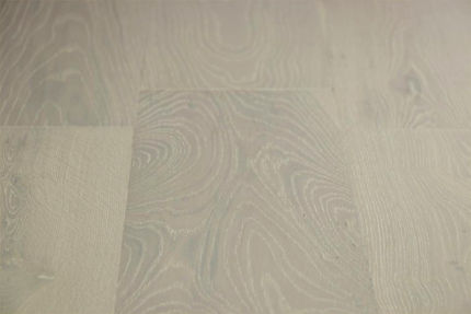 Natural Engineered Flooring Oak Double White Brushed UV Lacquered 14/3mm By 190mm By 1900mm