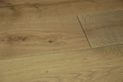Natural Solid Pisa Oak Brushed UV Oiled 20mm By 180mm By 500-2200mm