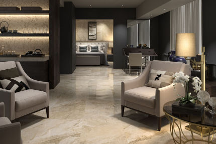 Porcelain Tile Oristano Almond 600mm By 600mm