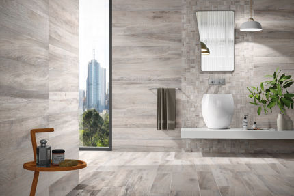 Porcelain Stoneware Madeira Grey 200mm By 1200mm