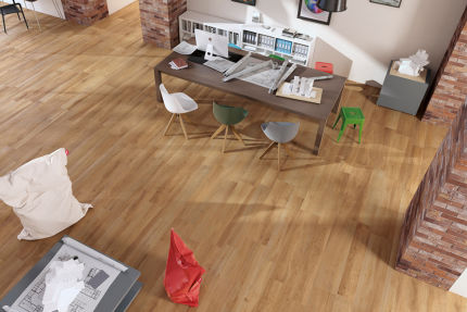Porcelain Stoneware Madeira Oak 200mm By 1200mm