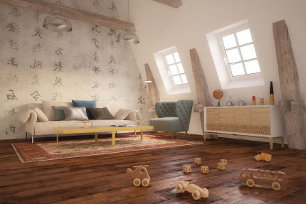 Select Engineered Flooring Oak Click Light Smoked Brushed UV Oiled 14/3mm By 189mm By 1860mm