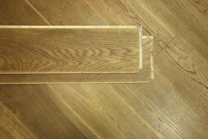 Select Engineered Flooring Oak Click Light Smoked Brushed UV Oiled 14/3mm By 190mm By 1860mm