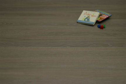 Select Engineered Flooring Oak Click White Grey Brushed UV Oiled 14/3mm By 190mm By 1860mm