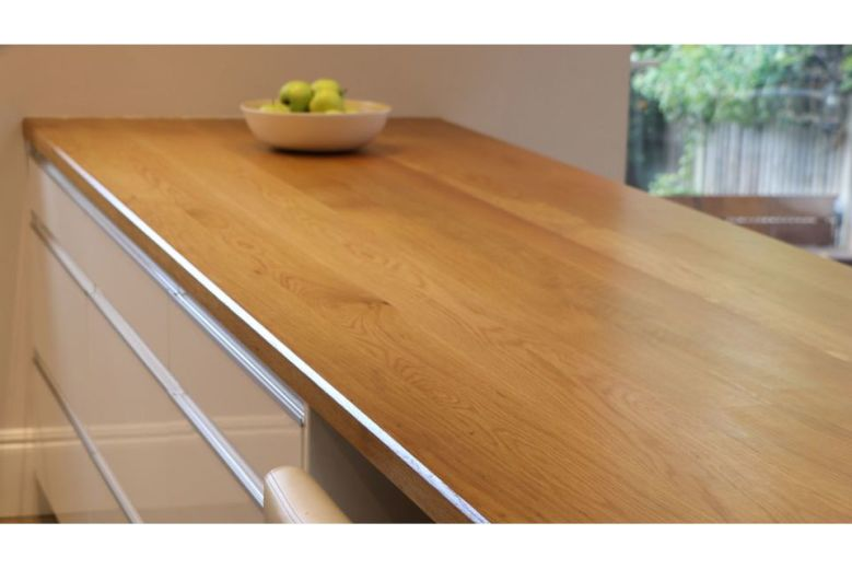 Full Stave Select Oak Worktop Elite 38mm By 620mm By 2400mm