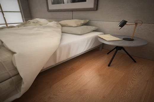 Prime Engineered Oak UV Lacquered 14/3mm By 190mm By 400-1500mm