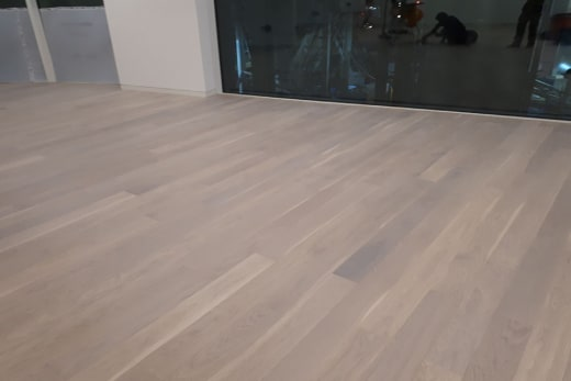 Select Engineered Flooring Oak Click UV White Oiled 14/3mm By 146mm By 1000-2400mm