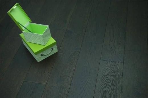 Natural Engineered Flooring Oak Black Tea UV Oiled 14/3mm By 190mm By 1900mm