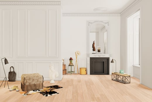 Price Oak Laminate Flooring 8mm By 193mm By 1380mm