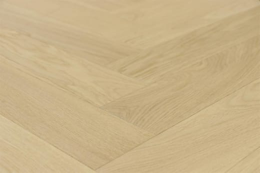 Prime Engineered Flooring Oak Herringbone Non Visible Br UV Matt Lacquered 14/3mm By 98mm By 590mm