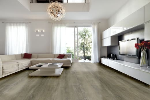 Luxury Click Vinyl Flooring Country Grey 5mm By 169mm By 1210mm