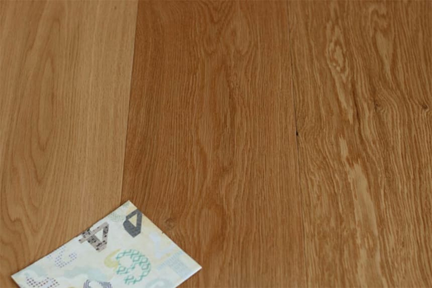 Prime Engineered Oak Click UV Lacquered 14/3mm By 195mm By 1000-2400mm