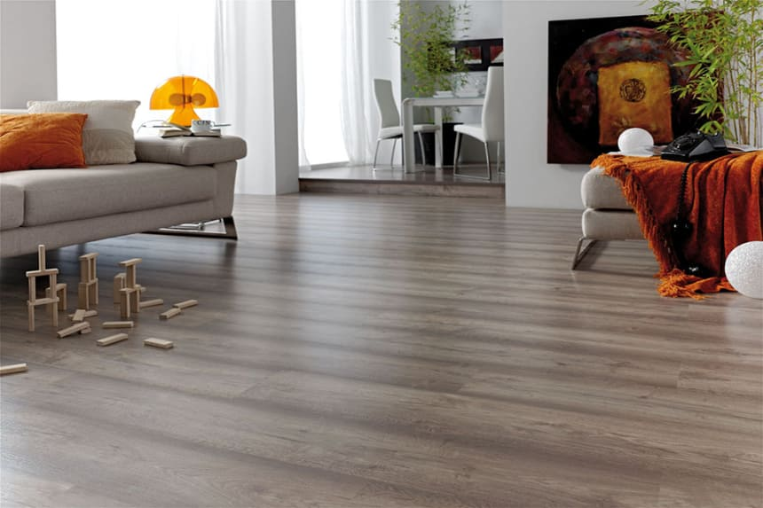Columbia Oak Light Grey Laminate Flooring 8mm By 189mm By 1200mm