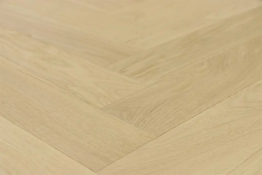 Prime Engineered Flooring Oak Herringbone Brushed UV Matt Lacquered 14/3mm By 98mm By 588mm