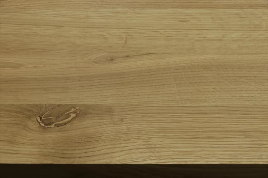 Full Stave Rustic Oak Worktop 38mm By 620mm By 2500mm