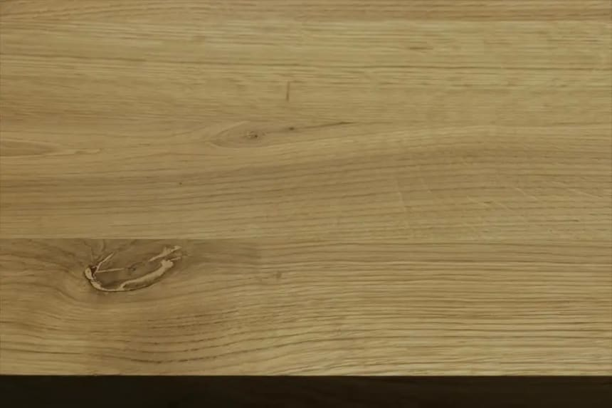 Full Stave Rustic Oak Worktop 38mm By 1000mm By 2100mm