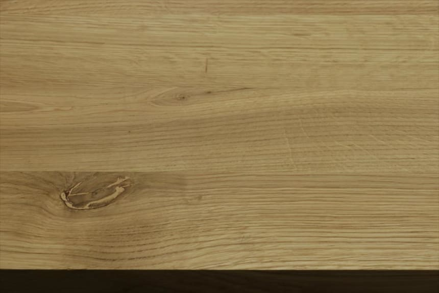 Full Stave Rustic Oak Worktop 40mm By 620mm By 2400mm