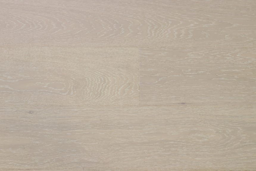 Prime Engineered Flooring Oak Click London White Brushed UV Matt Lacquered 13/3.5mm By 198mm By 1000-2400mm