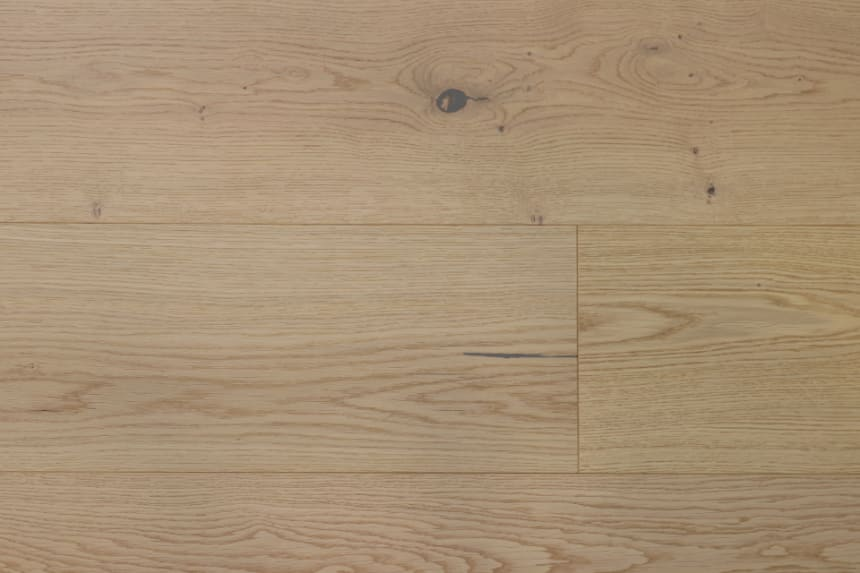 Natural Engineered Flooring Oak Light Sand Brushed UV Oiled 15/4mm By 250mm By 1800-2400mm
