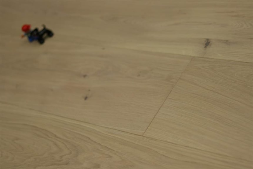 Natural Engineered Flooring Oak White Sand UV Oiled 16/4mm By 220mm By 2120-2400mm