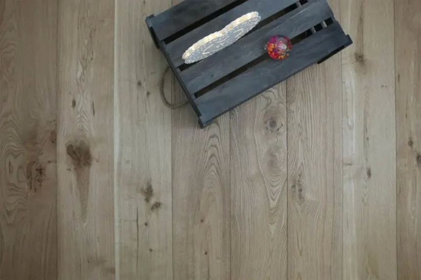 Natural Engineered Flooring Oak Brushed UV Oiled 10/3mm By 150mm By 300-1500mm