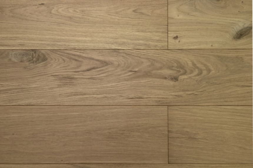 Natural Engineered Flooring Oak Click Non Visible UV Oiled 14/3mm By 190mm By 1900mm