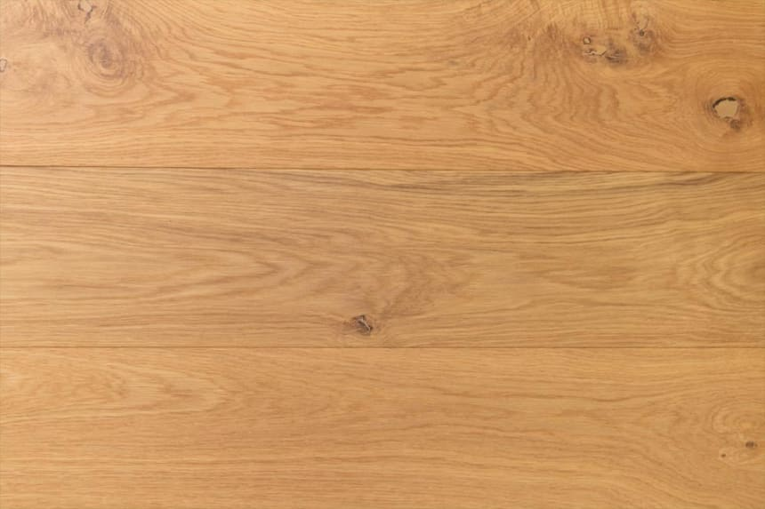 Natural Engineered Flooring Oak Click UV Lacquered 14/3mm By 190mm By 1900mm