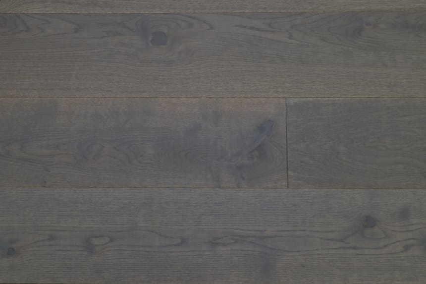 Natural Engineered Flooring Oak Promise Grey UV Oiled 14/3mm By 180mm By 1800-2200mm