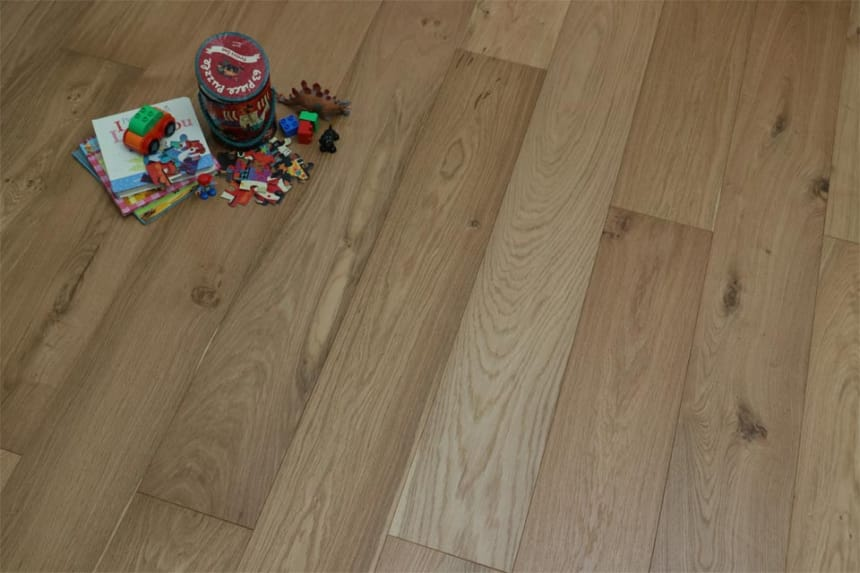 Natural Engineered Oak UV Oiled 18/4mm By 150mm By 300-1500mm
