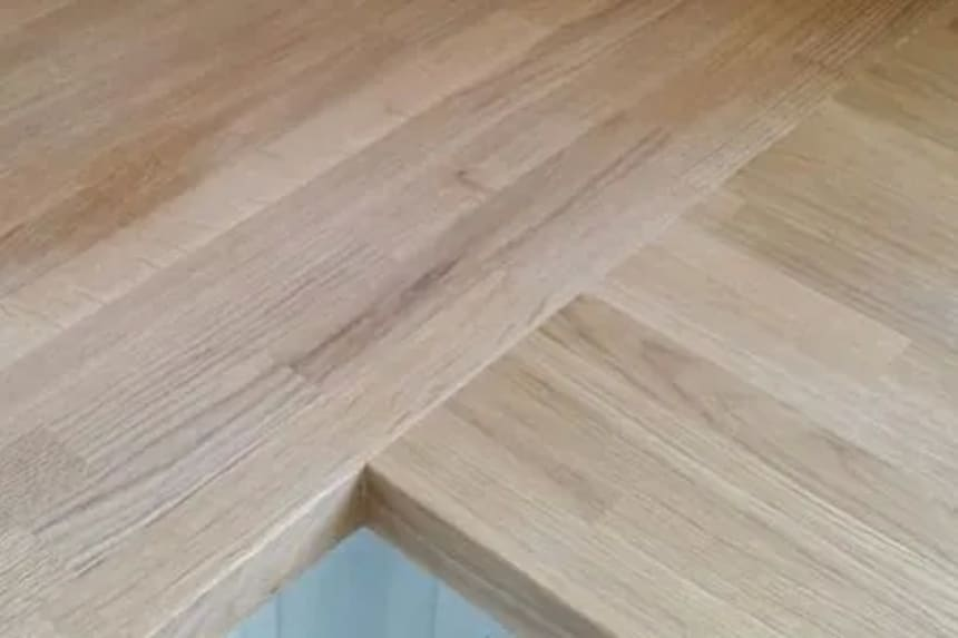 Premium White Oak Worktop 43mm Staves 40mm By 650mm By 2900mm