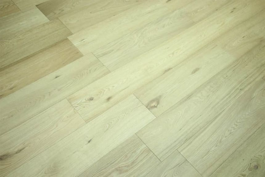 Prime Engineered Flooring Oak Brushed UV Semi Matt Lacquered 14/3mm By 178mm By 2000mm