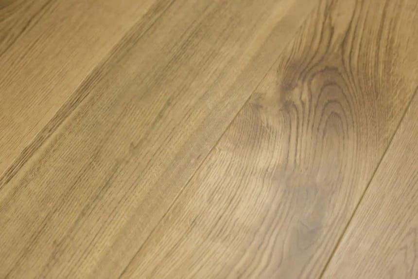 Prime Engineered Flooring Oak Click Brushed UV Matt Lacquered 14/3mm By 146mm By 1000-2400mm