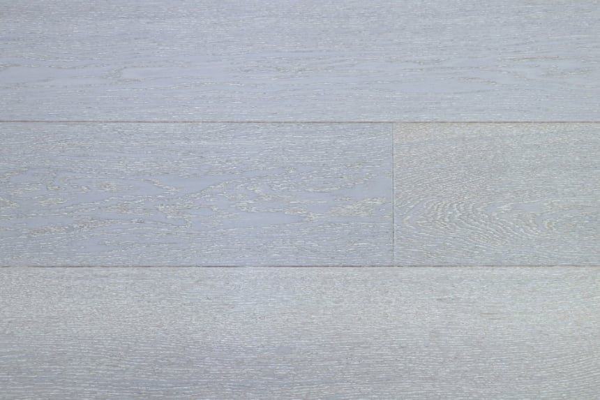 Prime Engineered Flooring Oak Click Sealed Wht Brushed UV Lacquered 14/3mm By 195mm By 1000-2400mm