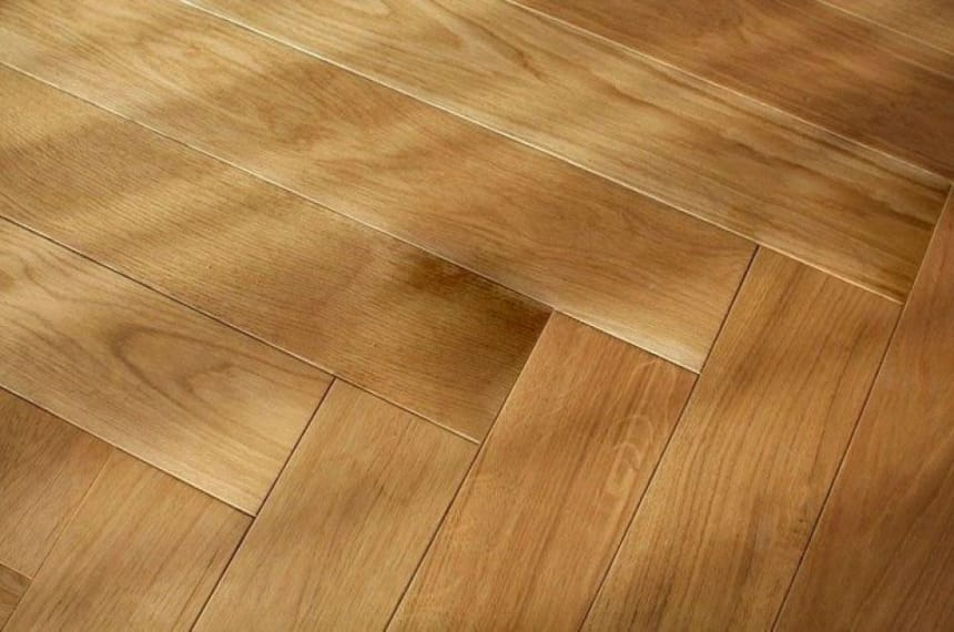 Prime Engineered Flooring Oak Herringbone UV Oiled 14/3mm By 98mm By 790mm