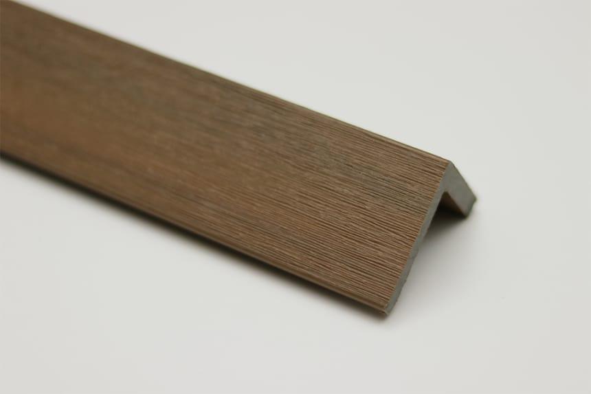Fascia Decking Composite Supremo Teakl 50mm 50mm 1000mm