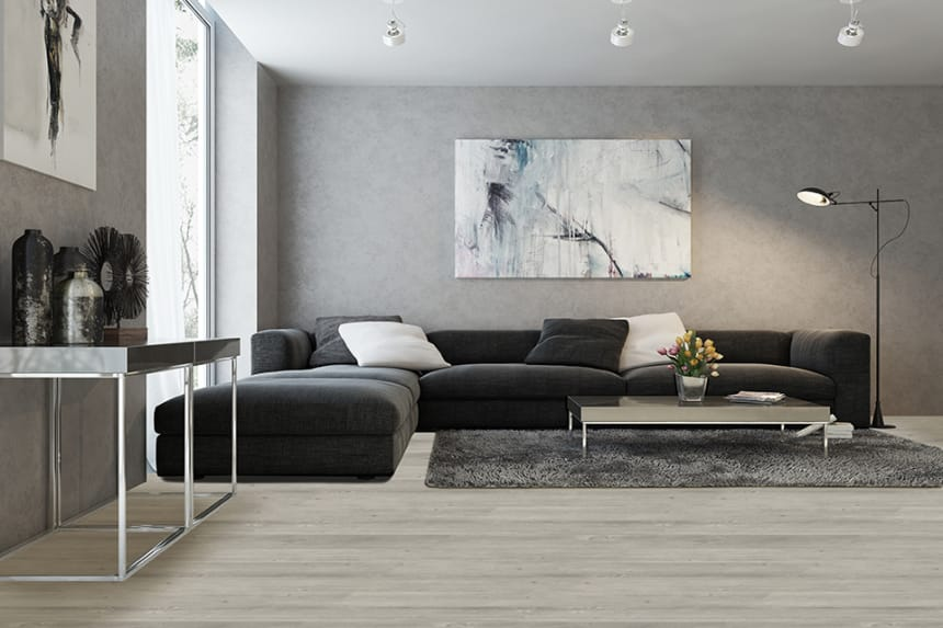 Luxury Click Vinyl Flooring Br Grey Oiled Oak 5mm By 169mm By 1210mm
