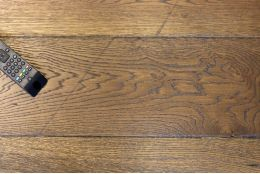 Natural Engineered Flooring Oak Reclaim Brown UV Oiled 15/4mm By 220mm By 2200mm