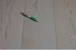 Natural Engineered Oak Click London Grey UV Oiled 14/3mm By 150mm By 400-1500mm
