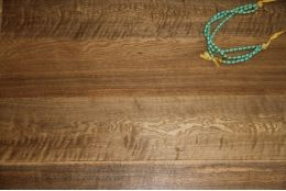 Natural Engineered Oak Click Smoked Brushed Oiled 14/3mm By 180mm By 400-1500mm