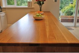 Full Stave Select Oak Worktop Elite 40mm By 750mm By 2400mm