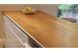 Full Stave Select Oak Worktop 38mm by 620mm by 3800mm