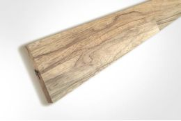 Premium Tiger Walnut Upstand Unfinished 18mm By 80mm By 4000mm