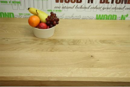 Full Stave Select American Oak Worktop Elite 38mm By 950mm By 3000mm
