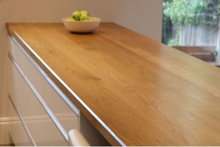 Full Stave Select Oak Worktop Elite 38mm By 750mm By 2950mm