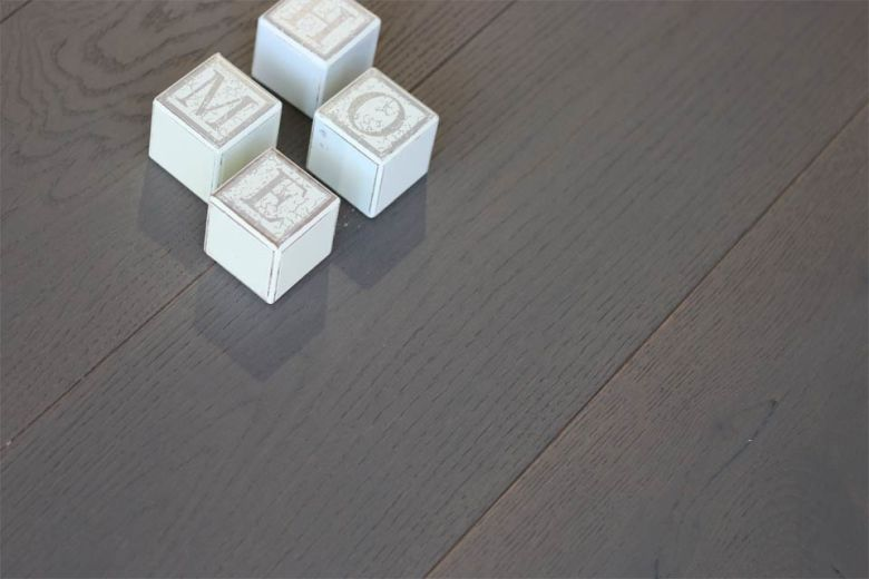Select Engineered Oak Click Metal Grey Brushed UV Oiled 14/3mm By 189mm By 1860mm